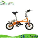 Bicicleta Foldable do frame de aço mini E-Bicicleta de 14 polegadas