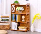 Bambusbücherschrank-Buch-Schrank Bookrack abnehmbare Zahnstange für Haupthotel