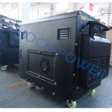 Генератор 5.5kVA двигателя HP 12 самонаводит генератор пользы портативный тепловозный с колесами