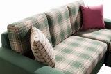 Sofá ocasional y simple de la esquina de la tela de la sala de estar (SF1207)