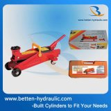 3ton de draagbare Hydraulische Hefboom van de Lift van de Auto van de Hefboom van de Vloer