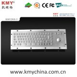 Teclado do quiosque do metal de IP65 Ik07 mini com Trackball (KMY299I-5)