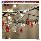 Artículos de la fiesta de Navidad del árbol del corazón cristal decoración del ornamento (CH8081)