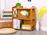 Crémaillère détachable de Bookrack de bibliothèque de Module en bambou de livre pour l'hôtel à la maison