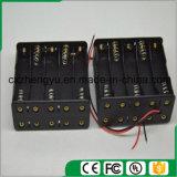 10AA de nuevo a sostenedor de batería posterior con los terminales de componente de alambre rojos/negros