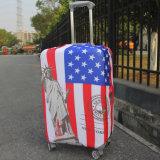 カスタム印刷のスーツケース保護カバースパンデックスの荷物の袖