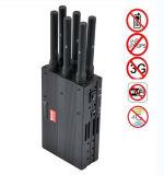 Emittente di disturbo tenuta in mano del telefono cellulare dell'emittente di disturbo di WiFi dell'emittente di disturbo di GPS dell'emittente di disturbo di 6-Aerial Lojack
