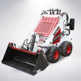 Mini cargador agrícola del buey del patín del equipo 4WD con el acoplador rápido