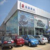 Departamento comercial prefabricado de la estructura de acero con diseño moderno