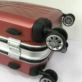 ألومنيوم إطار نمو أحمر حامل متحرّك يجعل حقيبة, عالة حاسوب مادّيّة سفر حقيبة حالة مع عجلات