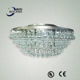 Lâmpada de cristal do pendente do candelabro da iluminação B50-150