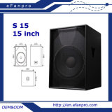 Woofer baixo do PRO altifalante audio de 15 polegadas para o disco (S 15 - TACTO)
