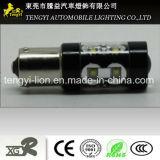 60W LED 차 빛 1156년 /1157 가벼운 소켓 크리 사람 Xbd 코어를 가진 고성능 LED 자동 안개 램프 헤드라이트