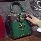 Neue Entwurfs-Form-Handtaschen-Kasten-Qualität PU-lederne Schulter-Beutel für Frauen Sy8122