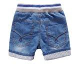 Shorts da sarja de Nimes da forma da criança dos miúdos para o menino
