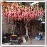 Décoration de mariage Arbre de fleurs artificielles en fibre de verre