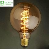 lâmpada de filamento do diodo emissor de luz de 2W G95 110V 220V G95 E27