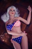 Silicón americano de Japón de la muchacha de la muchacha del Anime del sexo del asno verdadero japonés hermoso atractivo desnudo plástico de la muñeca almacén de 18 pulgadas