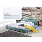 Bâti en cuir de Tatami de type moderne pour les meubles Fb8151 de salle de séjour