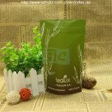 Saco de chá plástico da folha de pé do Zipper