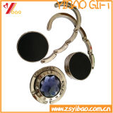 Подарок ювелирных изделий крюка деньг изготовленный на заказ логоса Heart-Shaped кристаллический (YB-HD-109)