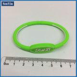 Braccialetto promozionale del braccialetto dei monili del silicone dell'OEM del regalo di modo