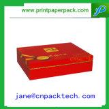 Rectángulo de regalo de papel de empaquetado de gama alta de la botella de vino/del rectángulo de joyería