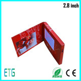 Hochwertige 2.8 Zoll-videogruß-Karte für LCD