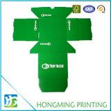 Kundenspezifischer glatter Laminierung-Papppapier-Schuh-Kasten