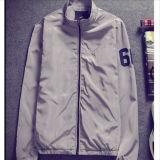 100% poliéster / nylon ligero rompevientos chaqueta / chaqueta a prueba de viento de invierno