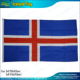 indicador de la carrocería de Islandia del poliester 75D de los 3X5FT/indicador del cabo de Islandia (J-NF07F02031)