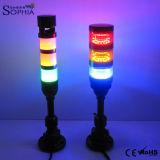 IP67 drei Stapel LED-Signal-Aufsatz-Licht-Tonsignal-Licht-3 Jahre Garantie-