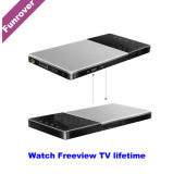 Funrover 2017 Car HD WiFi TV Box DVB-T / T2 Mobile Digital TV Récepteur Turner / Accueil / Portable portable Ios Android Freeview Life