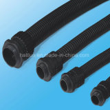 La pipe flexible de PE de polyéthylène avec de l'halogène libèrent