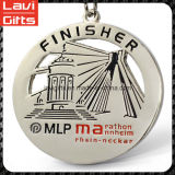 上デザイン工場価格のカスタムフィニッシャーメダル