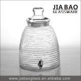 965mlプラスチックふたが付いている気密のソーダライムのガラスガラス鐘