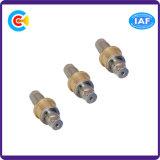 6각형 소매 또는 Pin 또는 나사 기계로 가공하는 스테인리스 & 구리 CNC