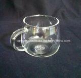 Copos de chá de vidro transparentes resistentes ao calor