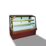 Arc-Shaped коммерчески вертикальная витрина торта
