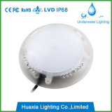Lampe de lumière de piscine à LED chaude encastrée résine remplie