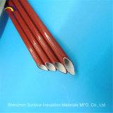 Funda aislador de la fibra de vidrio de la protección del aislante del alambre del harness de cableado de Sunbow 2.5kv