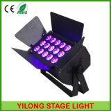 Aluminium 15W LED PAR Can pour Stage Wedding DJ Club