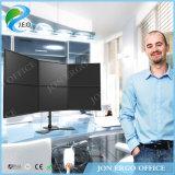 Jeo 15 '' - 27 '' pouces 360 canalisation verticale réglable de moniteur de bride de bureau de Displayheight Ys-MP360SL d'écran de la rotation six de degré