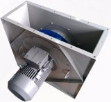 CentrifugaalVentilator van de Uitlaat van de ventilatie de Industriële Achterwaartse Gebogen Koel (450mm)