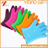 カスタムKetchenwareの摩耗抵抗のシリコーンの手袋(XY-HR-94)