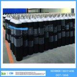50kgs 40L 150bar 이음새가 없는 강철 Black&White 가스통의 위