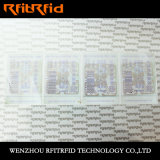 UHF falsificación de seguridad aparente Etiqueta RFID para la gestión de inventario