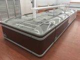 Supermercado Auto-descongelamento Cofre / Congelador Deep Island Display Freezer