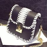 2017の対照カラー手の女性袋PU革デザイナーハンドバッグSy7838