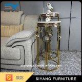 中国の工場ステンレス鋼の家具のMableの側面表